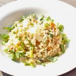 Resepti: Kanttarelli-parsarisotto