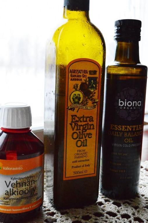 Oliiviöljy Kuumennus