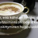 Vakaalla maalla: Näin teet maailman parasta kahvia