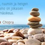 Deepak Chopra – kokonaisvaltaisen hyvinvoinnin uranuurtaja