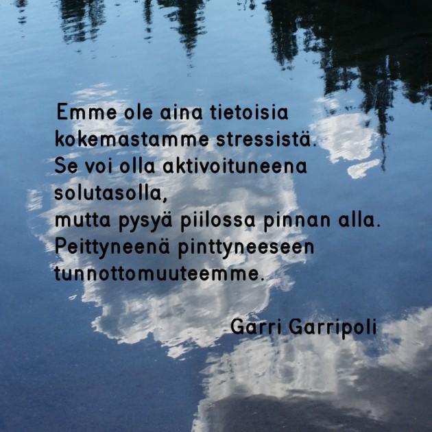 Garri Garripoli stressi