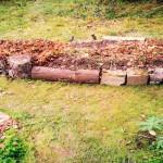 Puutarhajätteet kohopenkiksi