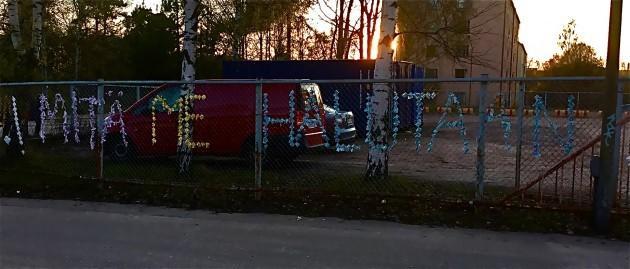 Tilataidetta, Alppilan lukio, kuva: T.A-M