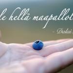 """""""Ole hellä maapallolle"""" – Dalai Laman 7 elämänviisautta"""