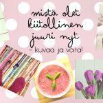 KISA: Kuvaa oma hyvän elämän reseptisi