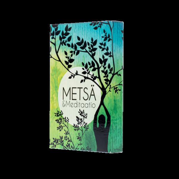 Kirjailija Jarkko Taivasmaan kortit Metsä ja Meditaatio