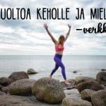 Nauti kesästä koko keholla – Kesähuoltoa keholle ja mielelle -verkkokurssi alkaa 1.6.