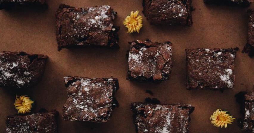 Brownie-leivoksia